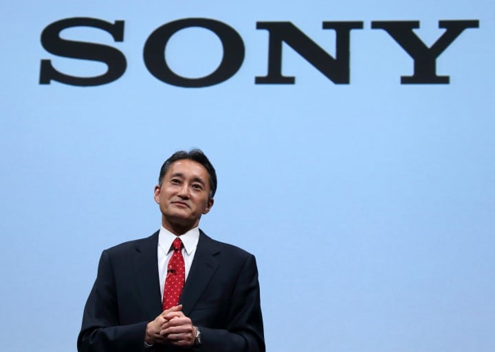 Sony CEO Kazuo Hirai News Conference