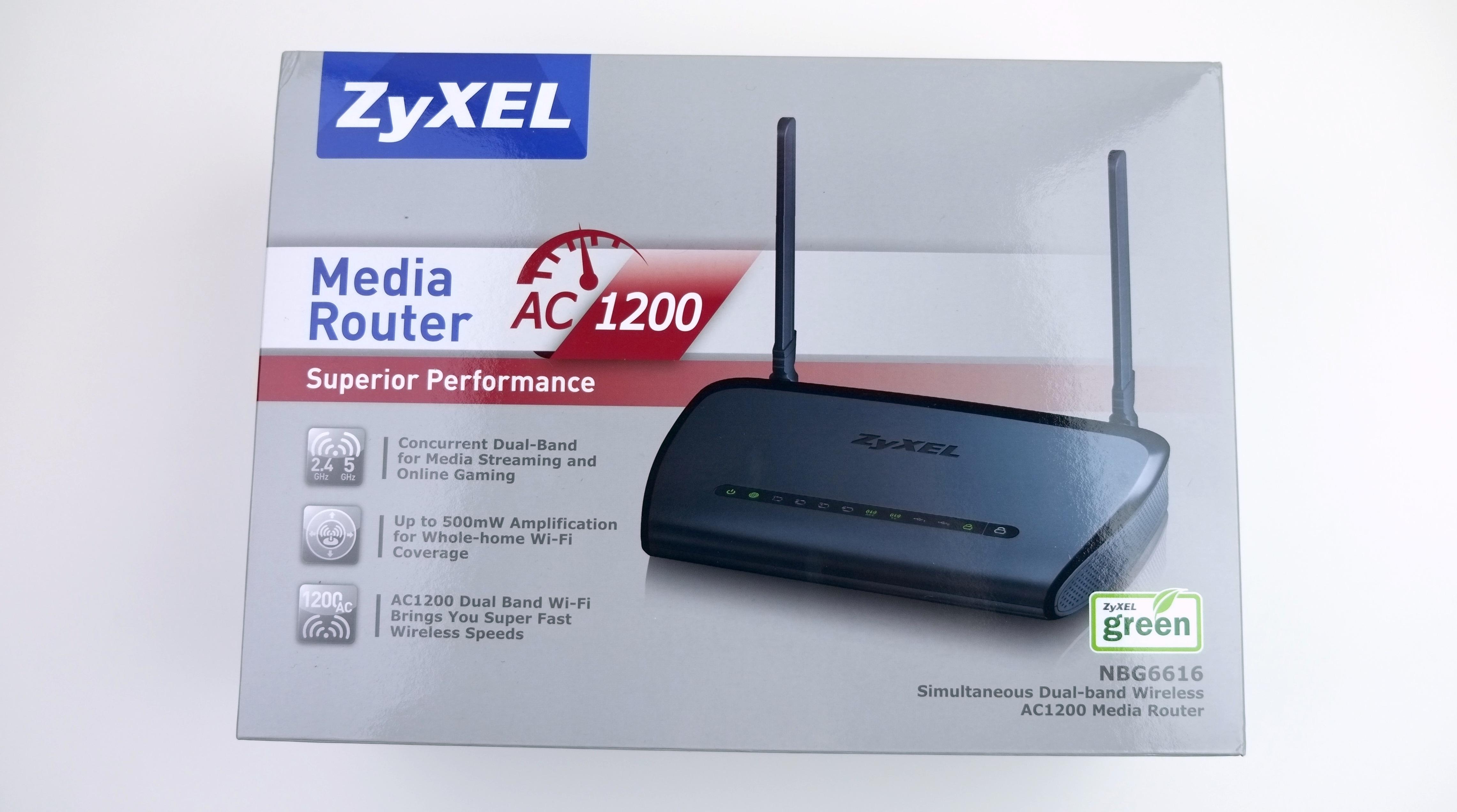 ZyXEL NBG6616 1