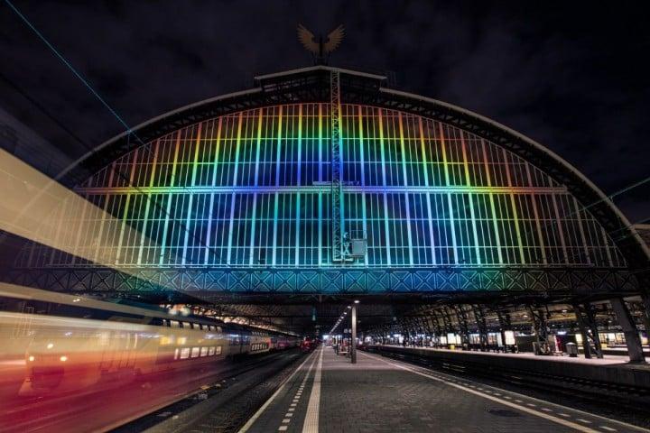 amsterdam stazione arcobaleno