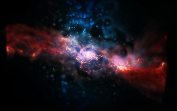 Un supercomputer calcola come nasce veramente una stella