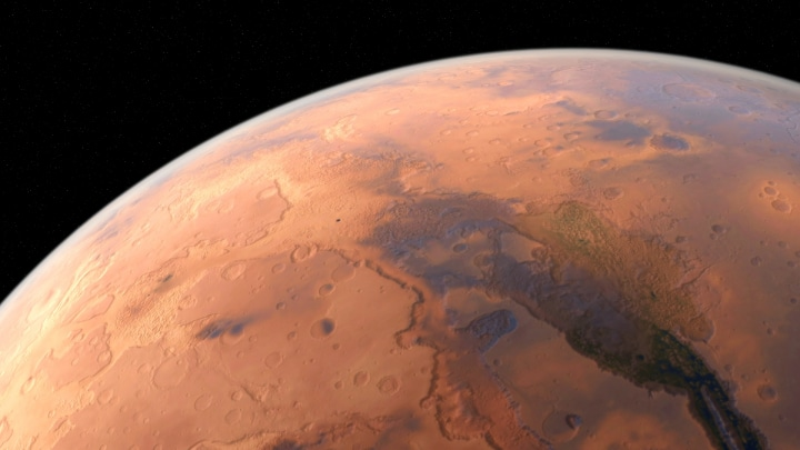 La misteriosa nuvola di Marte