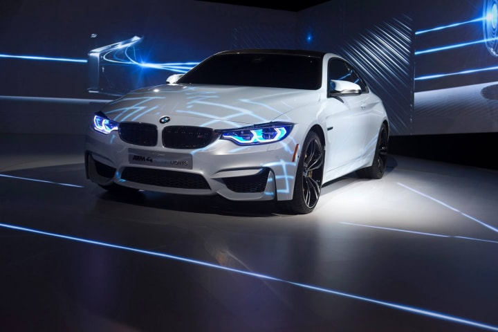 BMW Concept M4 Iconic Lights fhd