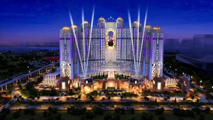 Macao casino Gotham City Batman