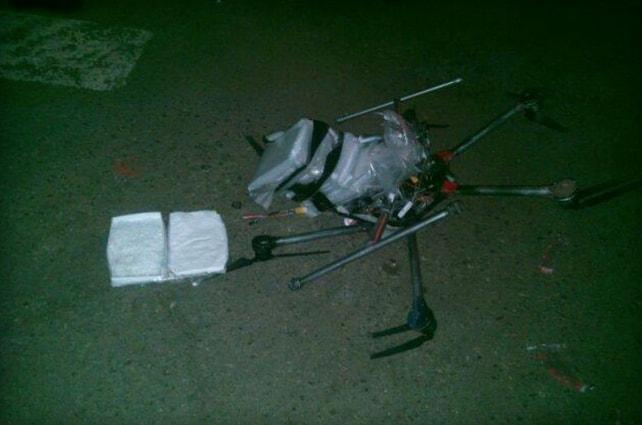 breaking drone