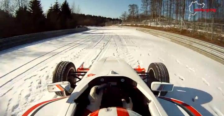 corsa su neve fhd
