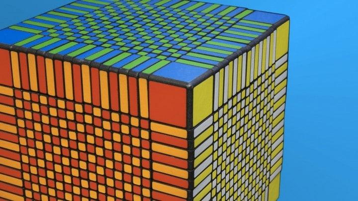 cubo rubik difficile