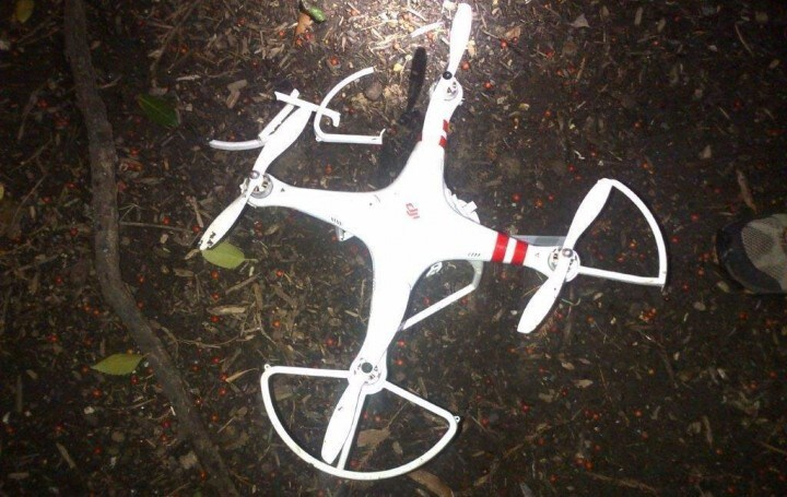drone casa bianca