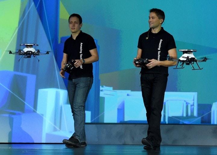 Intel vuole portarci nel futuro di Minority Report con la tecnologia RealSense 3D