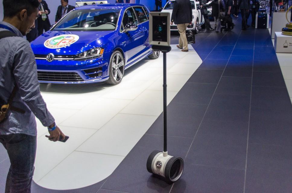 robot volskwagen