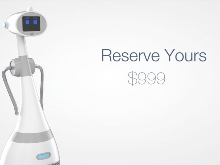 Luna Robot personale