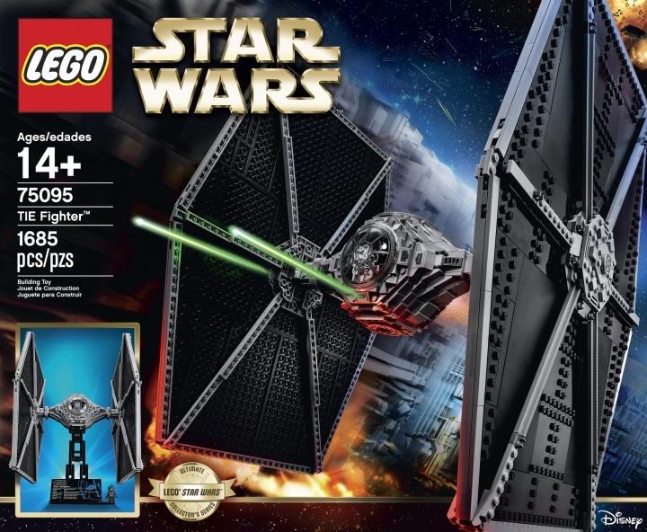 LEGO presenta il nuovo set dedicato a Star Wars: il TIE Fighter (foto e video)