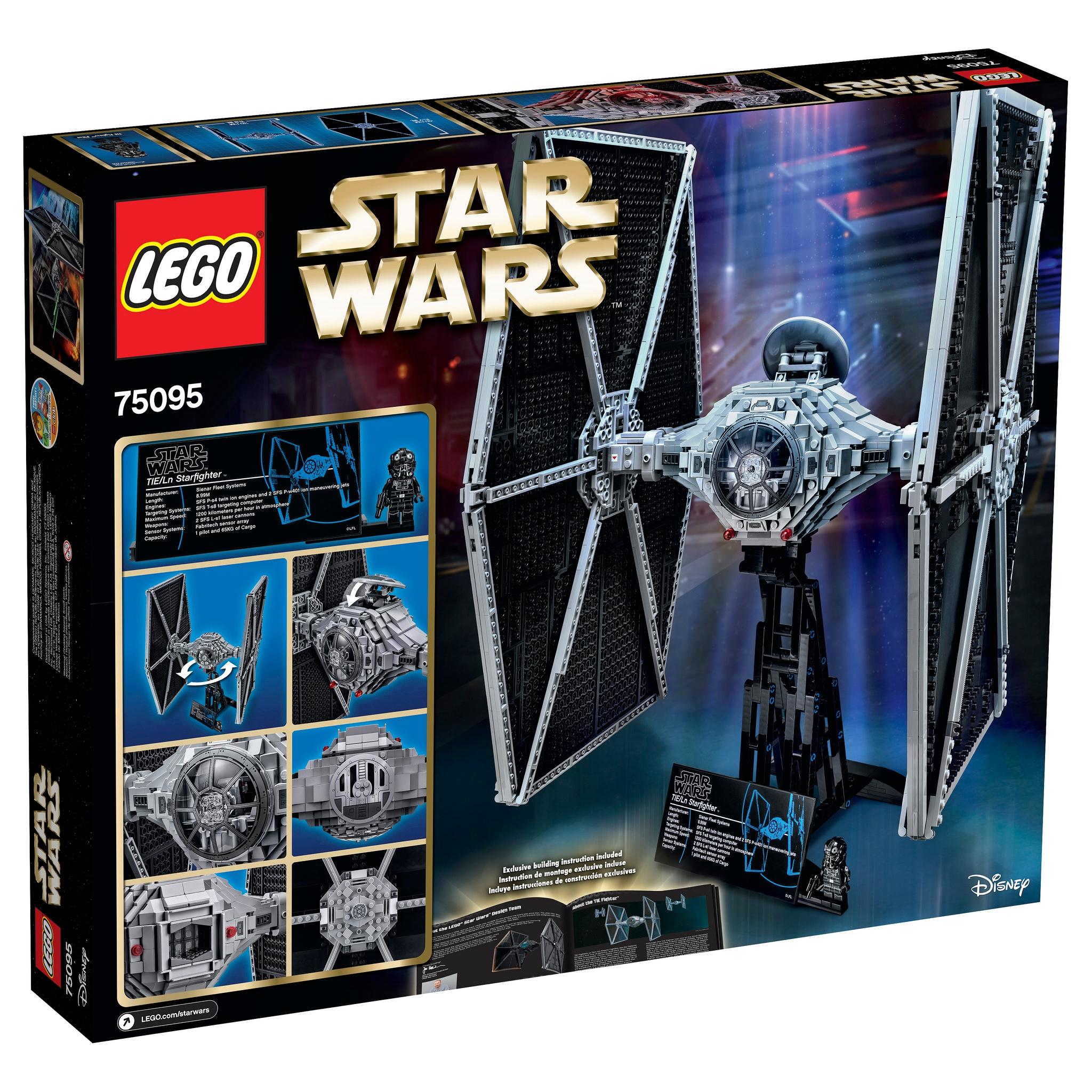 Star Wars LEGO tie fighter (2)