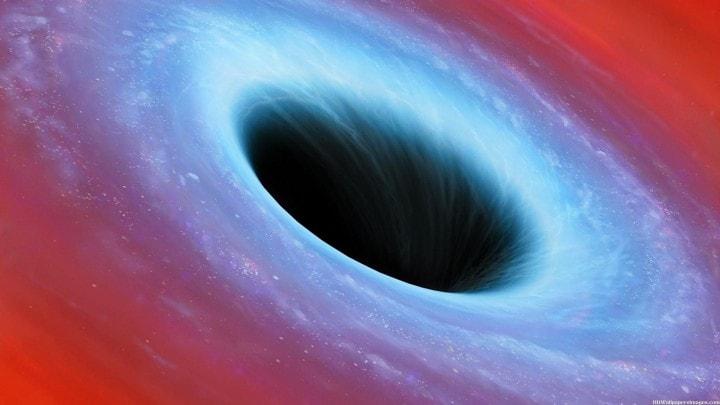 buco nero enorme