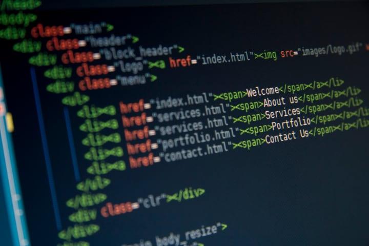 codice code programmazione fhd