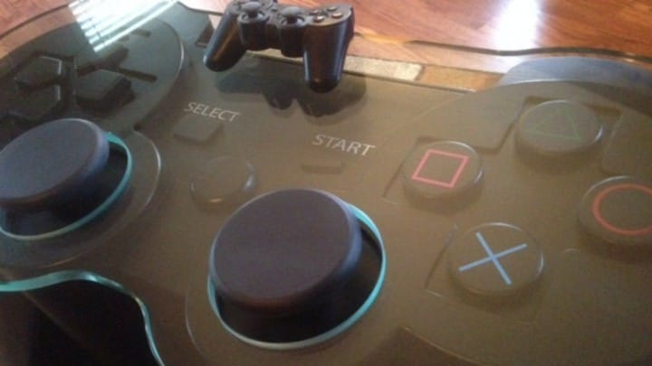 coffee table playstation