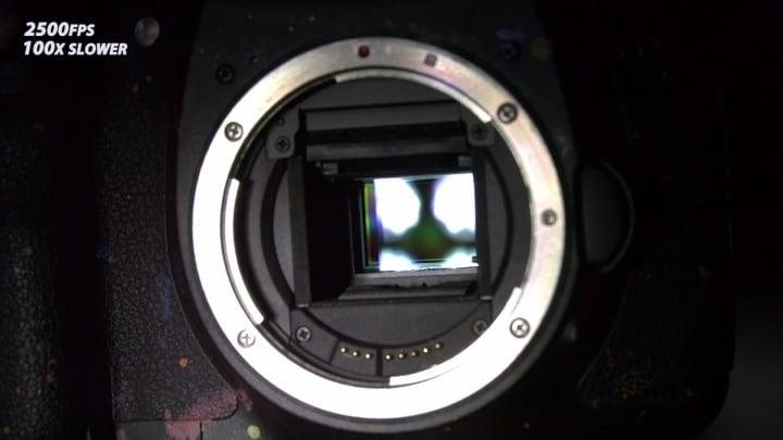 cosa accade dentro macchina fotografica