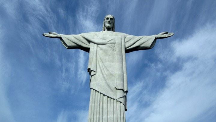 Un modello 3D del Cristo Redentore, creato da una squadra di droni (video)