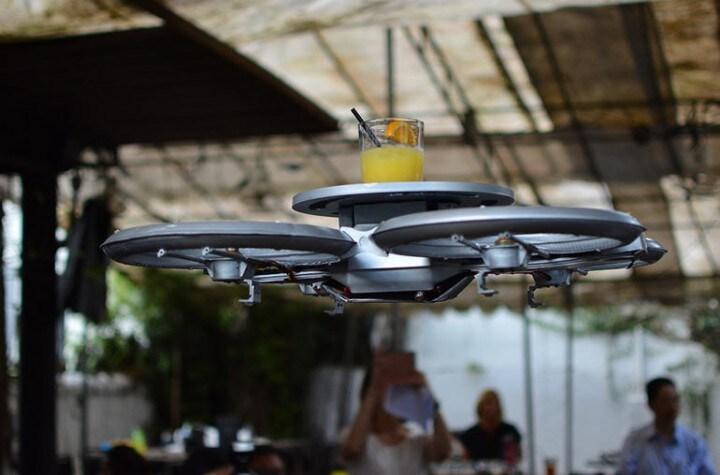 drone cameriere
