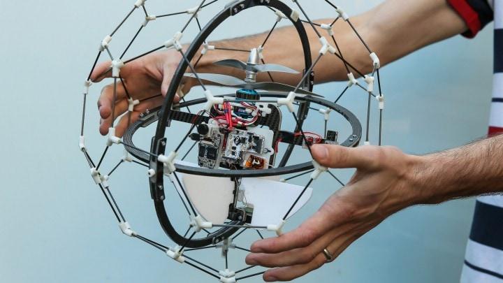 gimball drone gabbia fhd