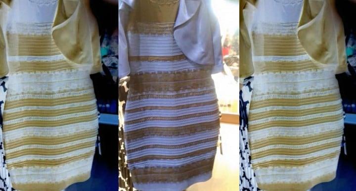 Aiutateci a capire il colore di questo vestito