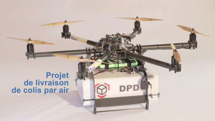 Poste francesi consegna droni