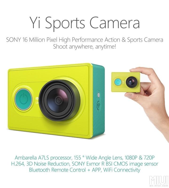 Xiaomi Yi Sports Camera - 1