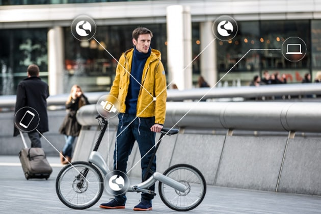 bici elettrica ripiegabile