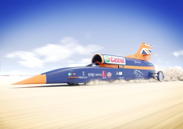 La macchina da 1.600 km/h è a prova di proiettile (video)