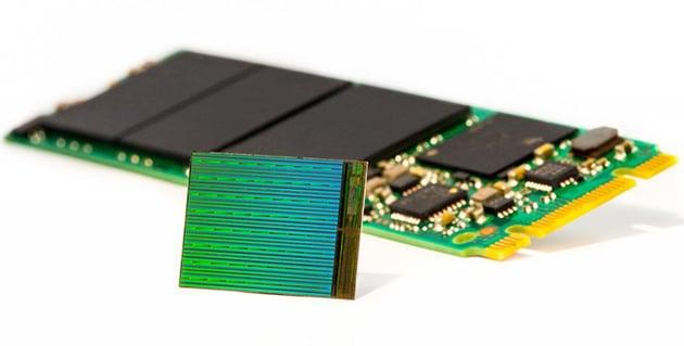 Dischi SSD da 10 TB economici, con le memorie 3D NAND