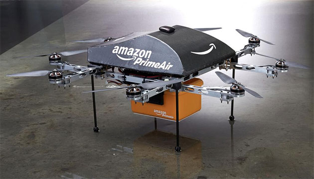 Arriva l'approvazione per i test dei droni Amazon