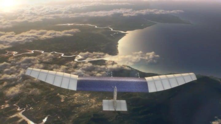 facebook droni solari
