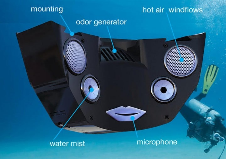 feelreal maschera realtà virtuale