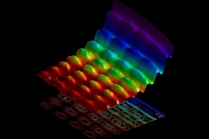 luce onda particella