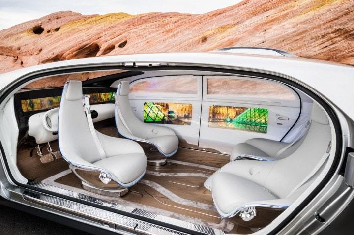 mercedes a guida autonoma