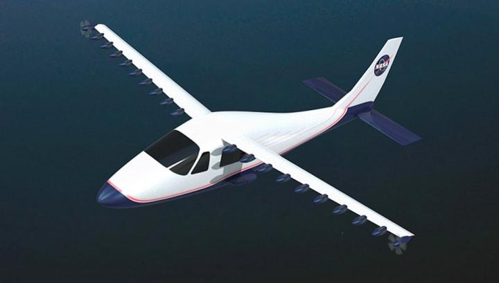 La strana ala della NASA, pensata per gli aerei elettrici