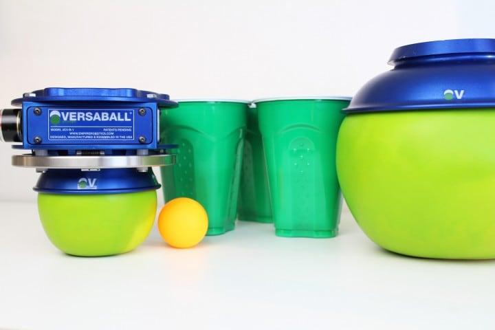 versaball robot ping pong