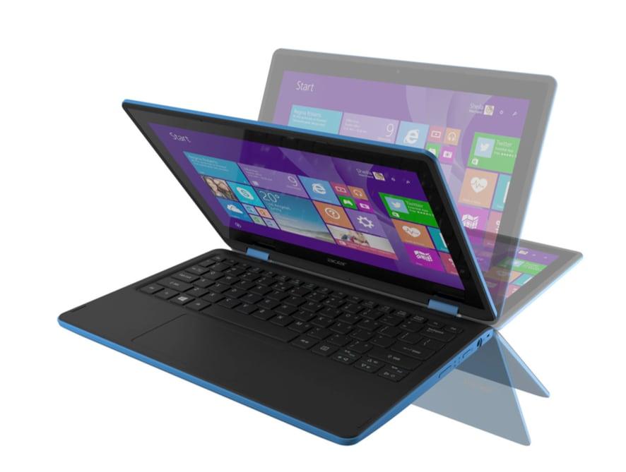 Da Acer due notebook convertibili e uno con cerniera a 360°