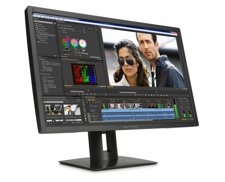 """HP Z32x 31.5"""" DreamColor Display, Right Facing"""