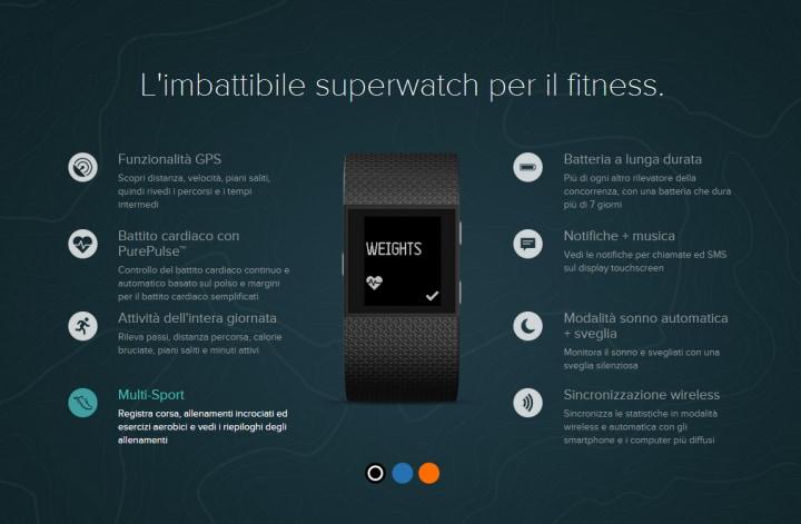 Fitbit Surge™  superwatch per il fitness -1