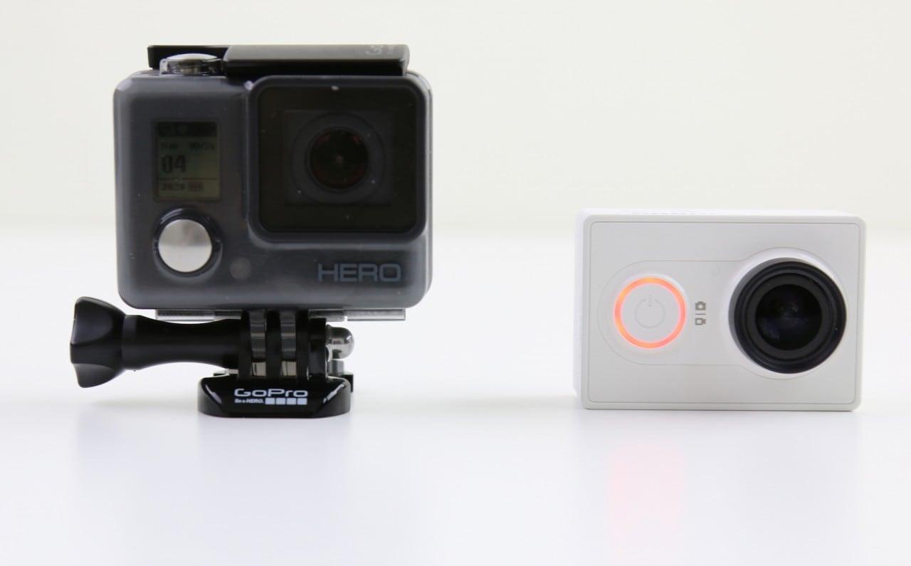 GoPro HERO vs Xiaomi Yi Camera