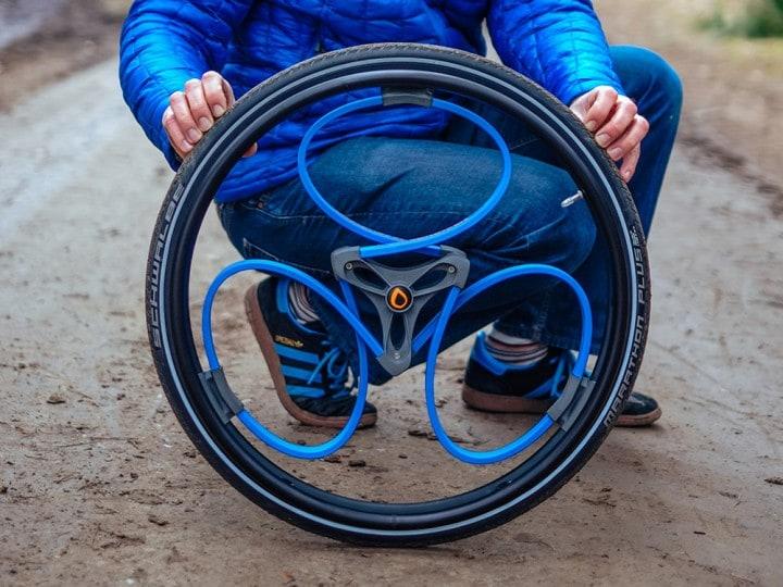 La ruota del futuro: dalle bici alle sedie a rotelle (foto e video)