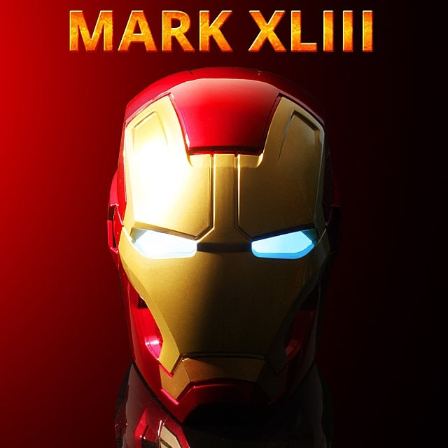 Speaker Bluetooth Iron Man - 1