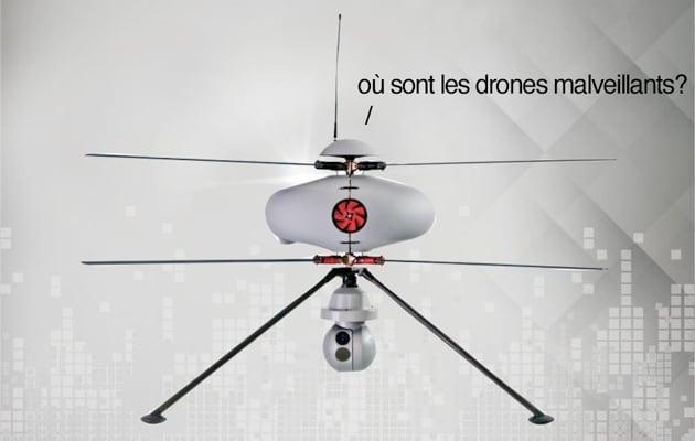Droni che cacciano droni, ecco lo scenario dei cieli francesi