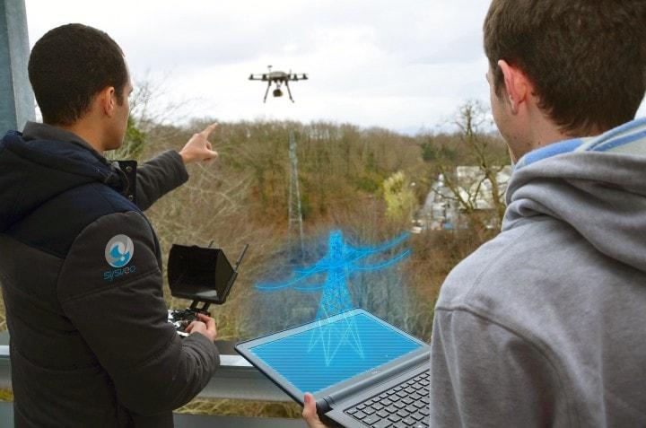 droni realtà aumentata