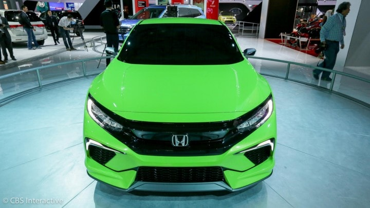 Linee sportive e moderne, nel concept della nuova Honda Civic (foto)