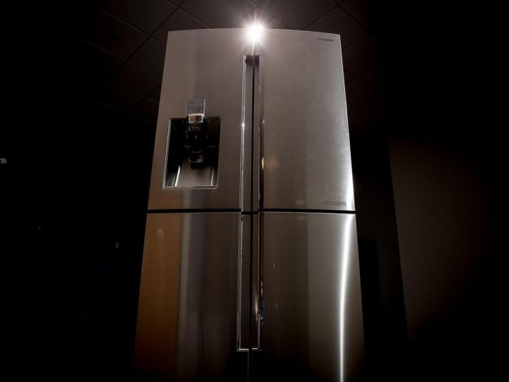 Samsung presenta il nuovo frigorifero per veri chef: 6.000$ di eleganza e tecnologia (foto)