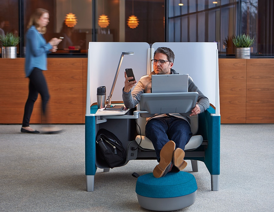 Questa è la sedia che vorreste nel vostro ufficio (video)