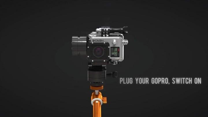 Riprese impeccabili con questo stabilizzatore smart per GoPro (video)