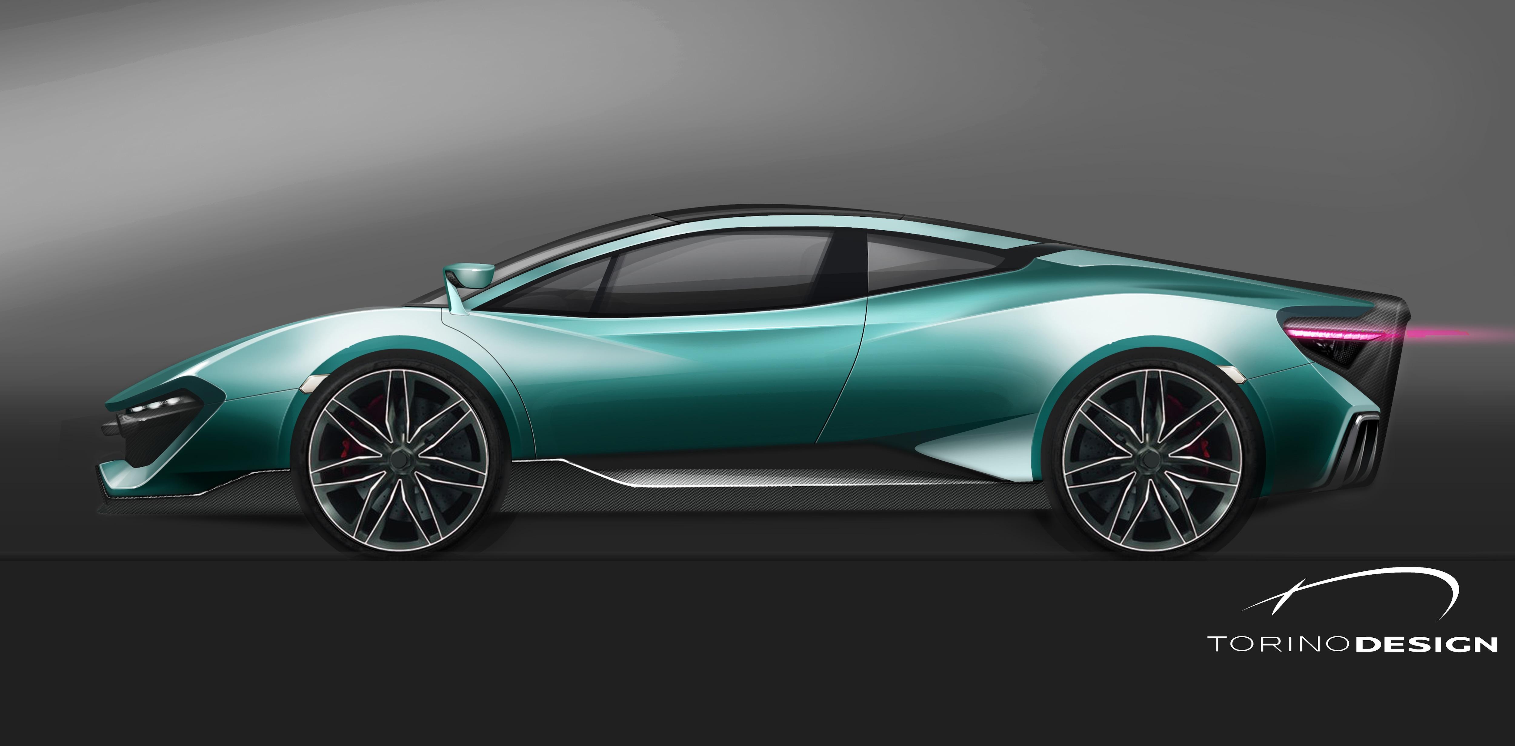 Torino Design coniuga stile ed ingegneria nella sua super car (foto ...