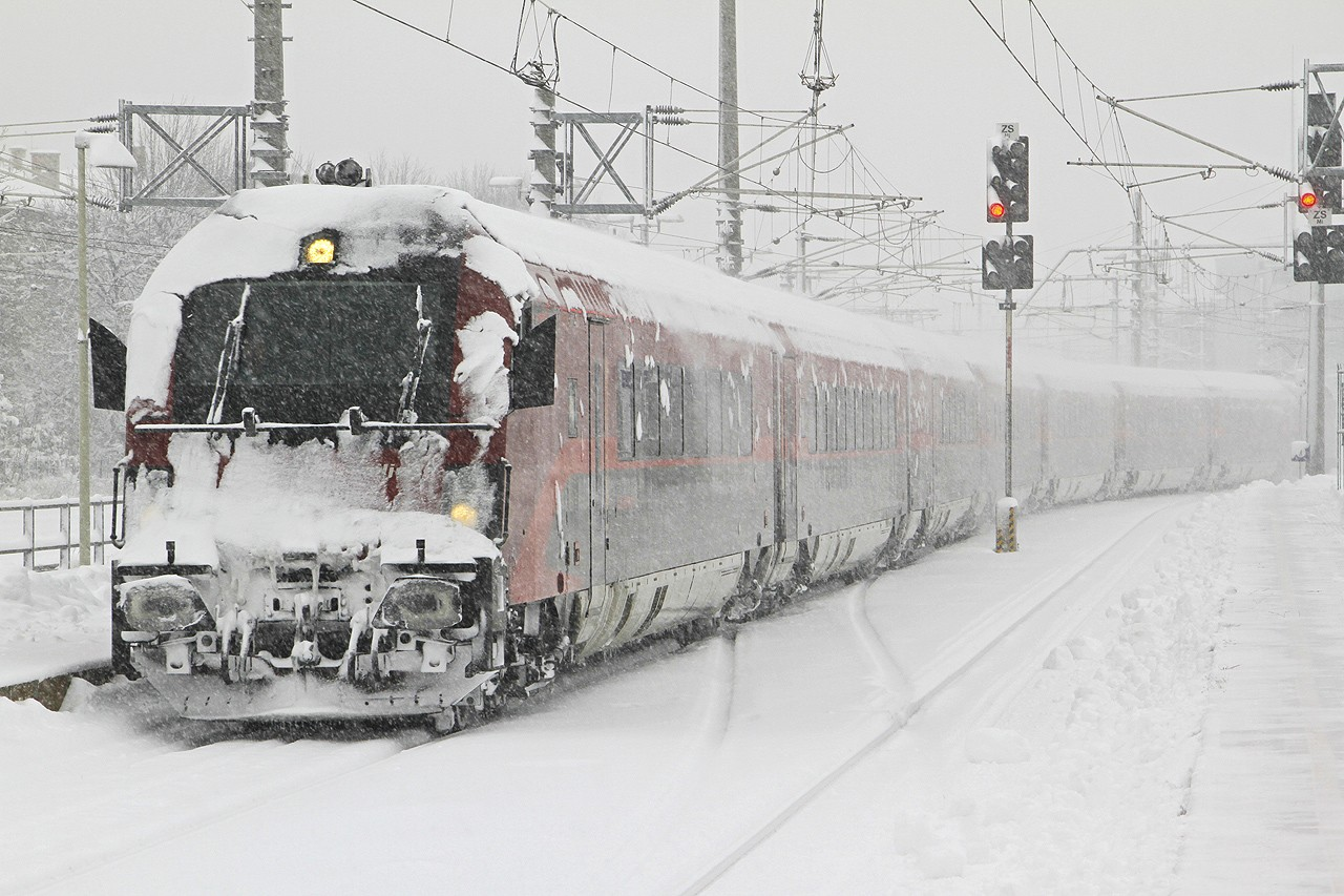treno neve Advanced Rail Cleaner